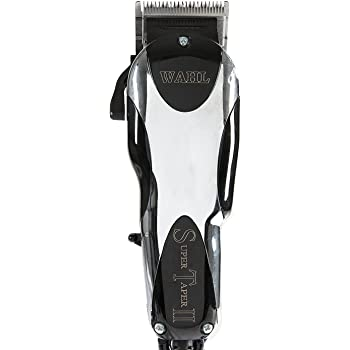 Wahl Professional Super Taper II Hair Clipper - Full Clipper with Ultra Powerful V5000 Electromagnetic Motor and 8 Colored Guide Combs for Professional Barbers and Stylists - Model 8470-500