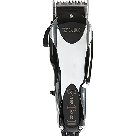 Wahl Professional Super Taper Hair Clipper with Ultra Powerful V5000 Electromagnetic Motor and 8 Colored Guide Combs, 1 count