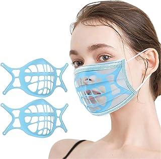 Hogar y Exteriores Support_Mask Support Frame con Soporte de Silicona 3D para lápiz Labial Antiadherente, etc (2 Piezas, A...