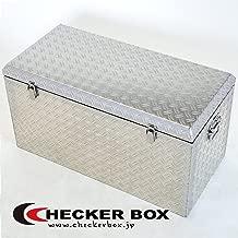 大型アルミ工具箱 幅833×奥行400×高さ435(mm) ボックス 道具箱 収納箱