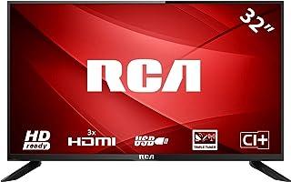 RCA RB32H1 LED TV (32 Pulgadas HD TV), Ci+, HDMI+USB, Triple Tuner, 60Hz, Mediaplayer