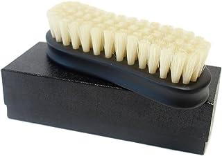 【Boot Black ブートブラック】 シューズブラシ 豚毛 ホワイト(日本製)磨きのプロ達が創り上げた靴ブラシ(江戸屋)