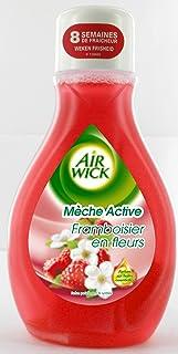 Air Wick Desodorisant Maison Continu Mèche Active Framboisier en Fleurs