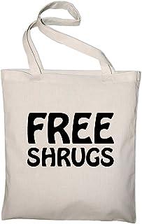 Styletex23 Free Shrugs Fun Jutebeutel Baumwolltasche