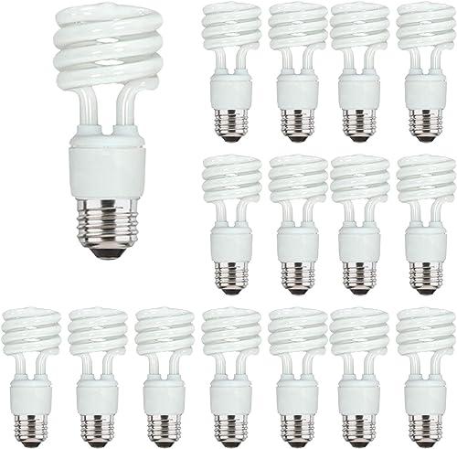 Energy Saver Light Bulbs, Cfl Light Bulbs, Spiral Light Bulbs, 13 Watt Light Bulbs Mini Twist Fluorescent Light Bulb,...