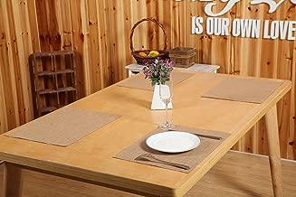 10 Pieces Burlap Placemats, Burlap Placemats 16 X 11 Wedding Gift Wedding Placemats Housewarming Gift Bridal Shower Gift