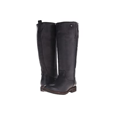 Frye Mara Button Tall (Black Soft Classic Leather) Cowboy Boots