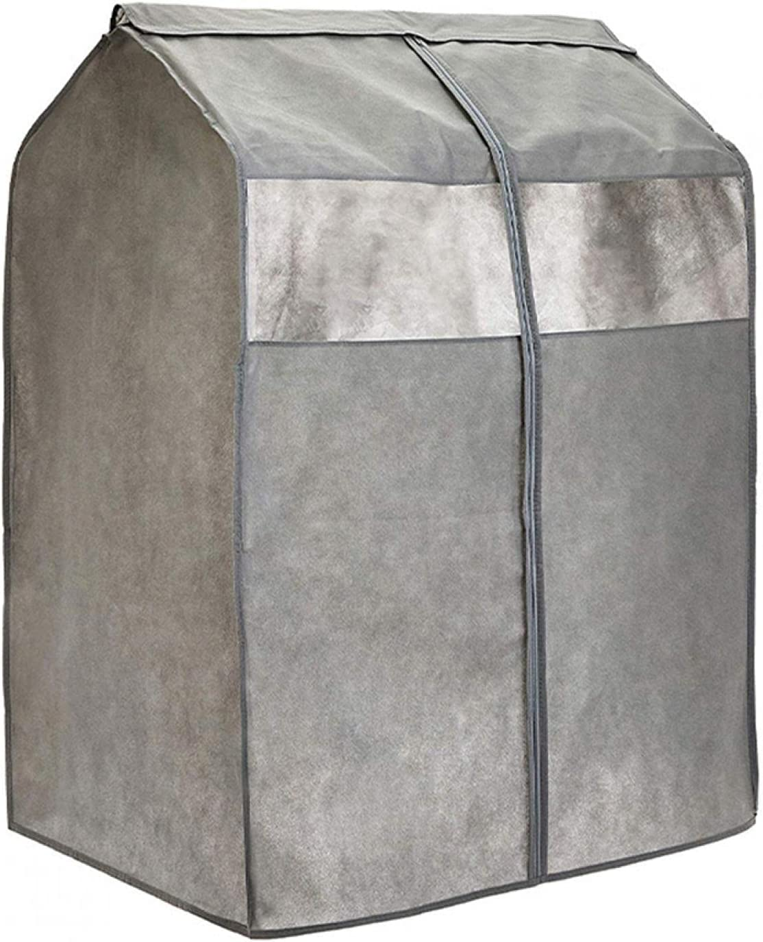 EKDJKK Garment Bag Organizer Storage with PVC OFFer Luxury Windows Garm Clear