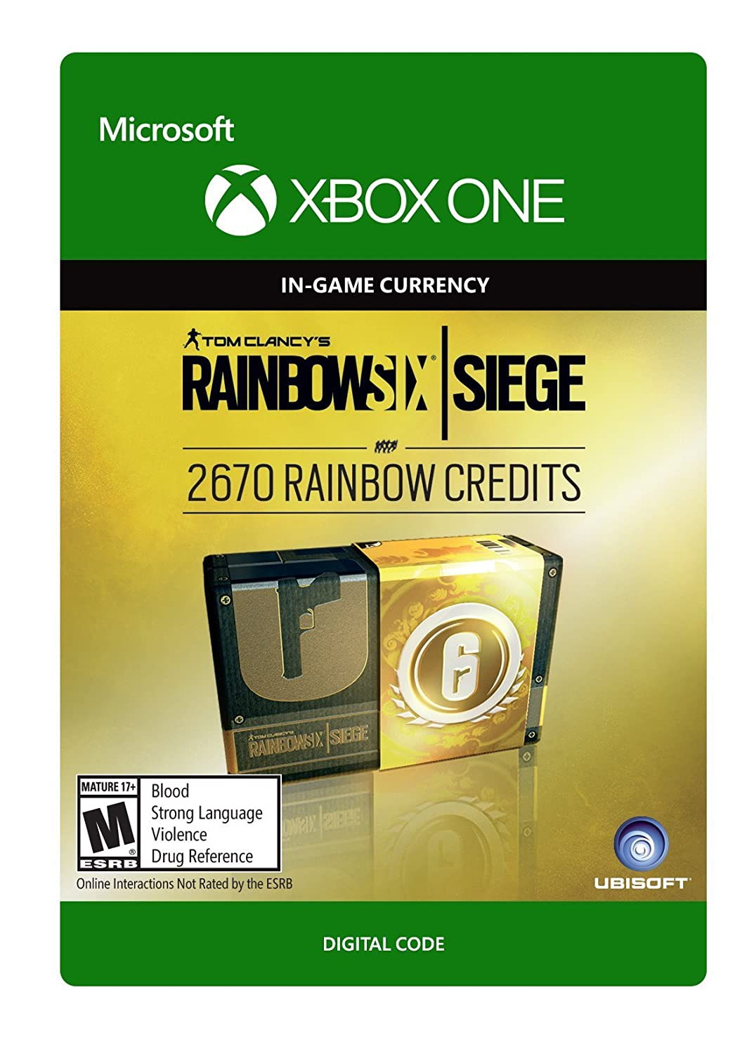 Tom Clancy's Rainbow Six Siege credit Currency Quantity limited 2670 pack Omaha Mall
