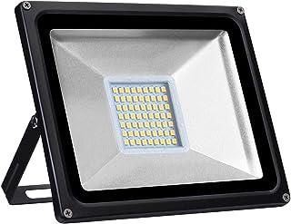 30W LED Flood Lamp 2400LM Wall Light 3000K Warm White Spotlight IP65 Waterproof Outdoor Floodlights for Garden Landscape S...