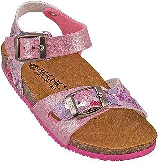 012-333 Biochic Girls Sandals Glitter Pink
