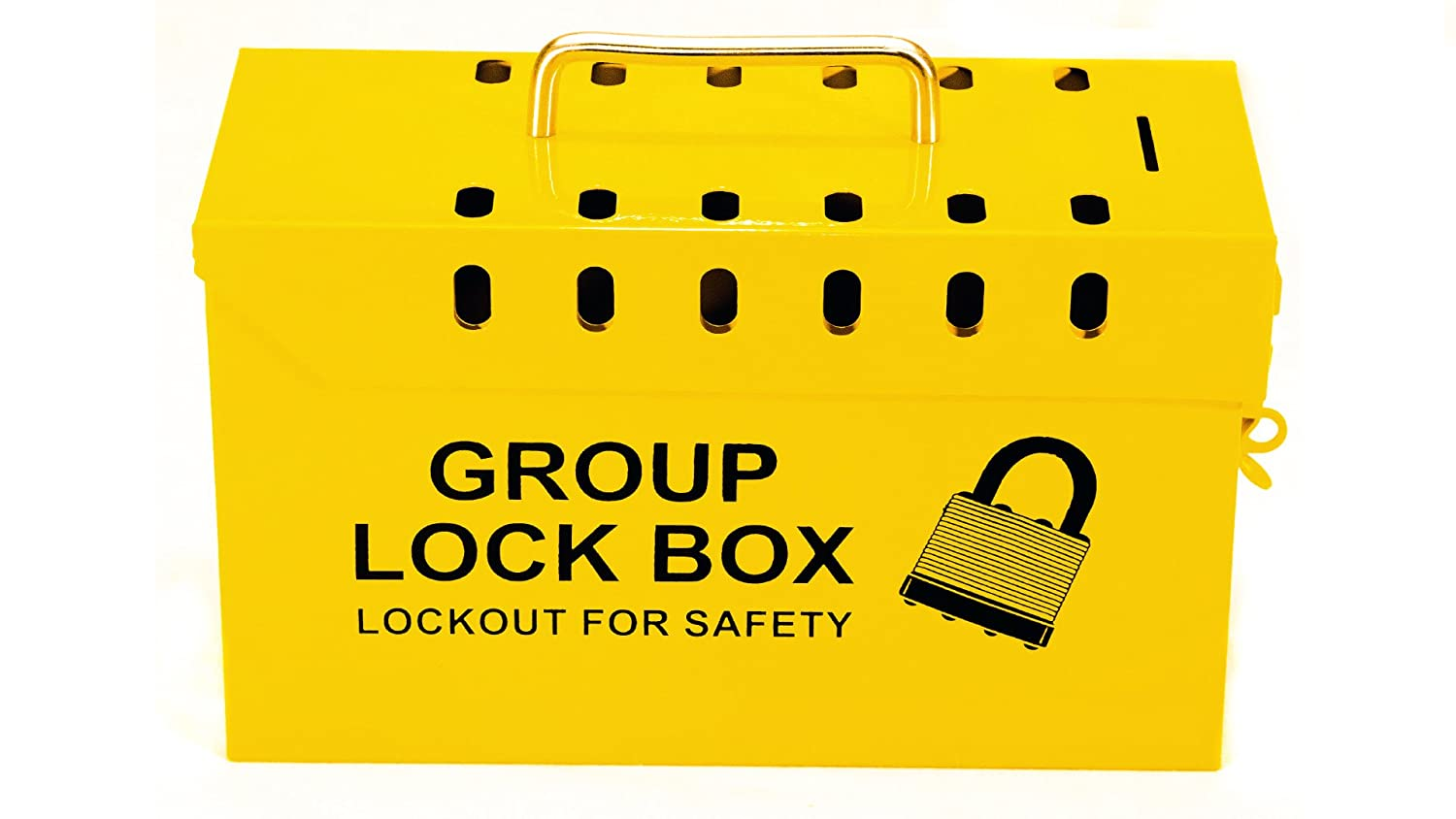 Luxury Lockout Safety Supply 7299Y-UN Group Box Tagout Portabl Omaha Mall