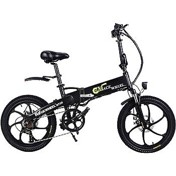 GT20 48V*350W Bicicleta plegable de 20 pulgadas Bicicleta de ...