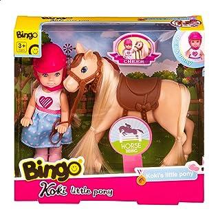 Bingo 0100 Koki Doll Little Pony Set for Girls