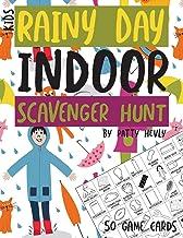 Kids Rainy Day Indoor Scavenger Hunt