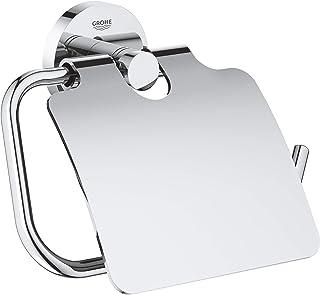 GROHE Essentials Toilet Paper Holder, Starlight Chrome