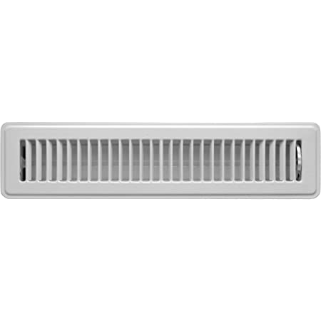 HVAC Vent Cover Outer Dimensions: 3.5 X 15.5 - Brown 2 X 14 Toe Space Grille