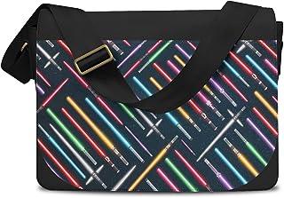 Lightsabers Star Wars Inspired Messenger Bag - One Size Messenger Bag