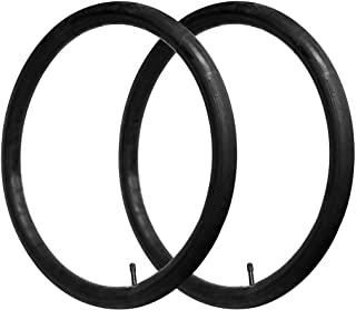 CalPalmy 26'' x 1.75/2.125 Road and Mountain Bike Replacement Inner Tubes with Schrader Valve 32mm for Road/Mountain Bikes...