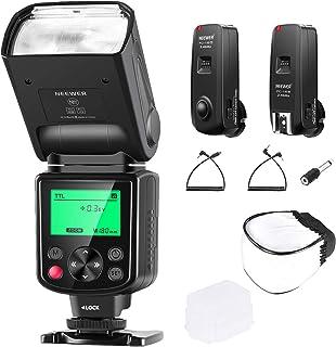 نيوير NW635 TTL GN58 فلاش مع 2.4 جيجا جيجا 16 قناة ومنشر خفيف، متوافق مع كاميرات سوني MI هوت شو A9II A7RIV/III A7III/II A7...
