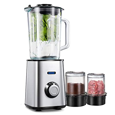 Aicook Blender ,Smoothie Blender 3 in 1,Counter...