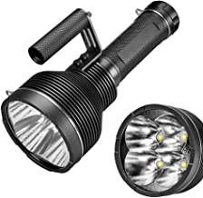 GT4 4*XHP70.2 25000LM 1370 Meters Powerful Long Shoot 18650 Flashlight Ultra Bright Strong Spotlight LED Torch