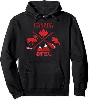 Produit Montréal Canada Symbols Sweat à Capuche