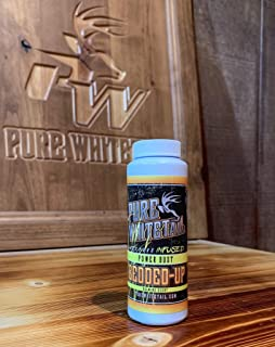 Pure Whitetail Bedded-Up Natural Calming Scent – Power Dust – Bedding Area and Deer Herd Attractant and Cover Scent