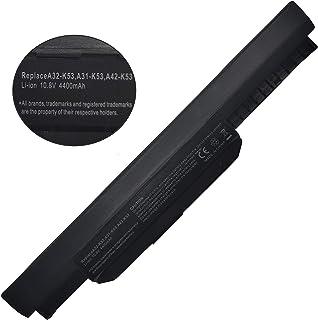 ZJS A32-K53 Batteria per ASUS K53 K53E X54C X53 X53S X53SV X53U X54 X54C X54F X54H X54L K53SV X54C X53E K53U [10.8V 440MAH]