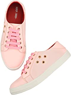 DECENT Men's Girls and Women's Shoes, Casual, Sneaker, Ladies, Walking Gymwear Canvas Shoes for Girl's and Women's