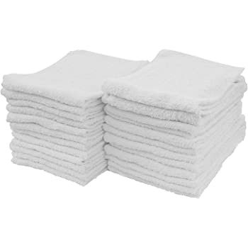 90 cotton terry cloth cleaning towels shop rags 12x12 1.25# heavy duty jumbo box