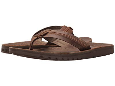 Reef Voyage Lux (Brown/Brown) Men