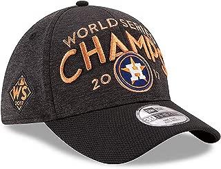 New Era Houston Astros 2017 World Series Champs Flex-Fit 39Thirty MLB Curve Brim Baseball Cap (Small-Med)