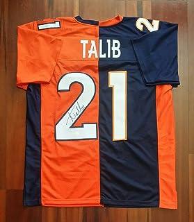 Signed Aqib Talib Jersey - JSA Certified - Autographed NFL Jerseys