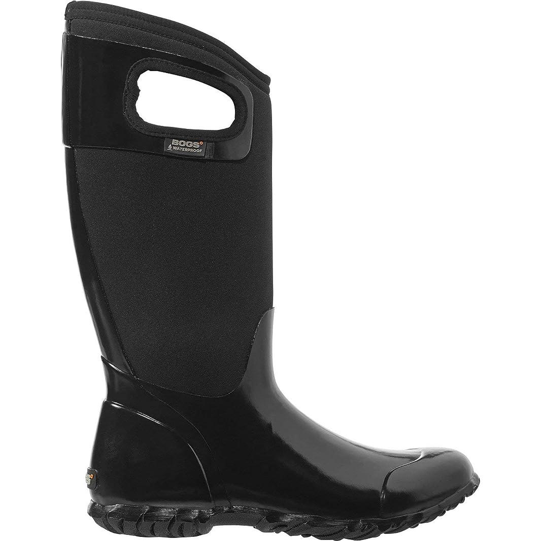 思慮のないスプリット壮大Bogs(ボグス) レディース 女性用 シューズ 靴 ブーツ レインブーツ North Hampton Solid - Black [並行輸入品]