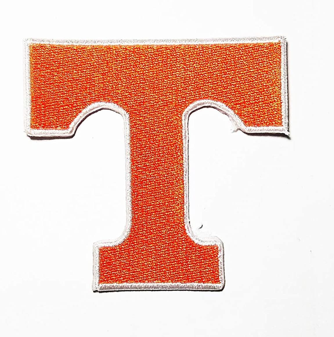 Letter T Logo Patch Embroidered Sew Iron On Patches Badge Bags Hat Jeans Shoes T-Shirt Applique