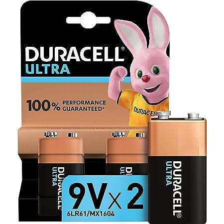 Duracell Ultra 9v Block Alkaline Batterien 6lr61 2er Elektronik