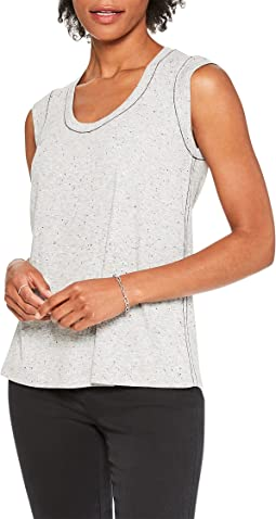 Speckled Knit Tank Top