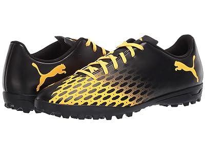 PUMA Spirit III TT (Puma Black/Ultra Yellow) Men