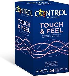 comprar comparacion Control Sensual Dot&lines Preservativos - Caja de Condones con Puntos y Estrías, 24 Unidades (Pack Ahorro)