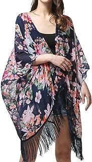 Womens Colorful Striped Blouse Tops Crochet Pullover Shirts Bikini Cover Up Beachwear