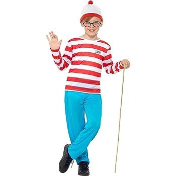Smiffys - Disfraz de Wally para niño, talla S (4-6 años) (39971S ...