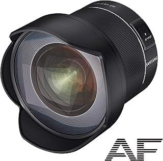 Samyang 22512AF F2.8Obiettivo Autofocus con distanza Focale per Nikon F Pieno Formato, Nero, 14 mm