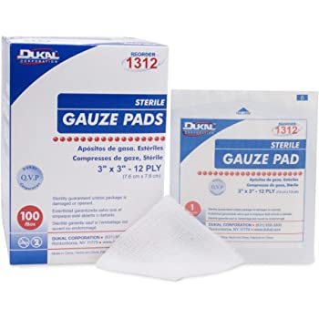 Gauze Pads Sterile 3'' X 3'' 100/box