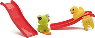 Vital Baby Stick & Slide with Bath Wall Suction Slides and Water Skiing & Squirting Ducks