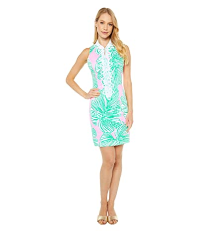 Lilly Pulitzer Alexa Stretch Shift Dress (Mandevilla Baby Who Let The Fronds Out) Women