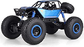 1:10 Scale Remote Control Car,4WD High Speed All Terrains Electric Toy Off Road RC Monster Vehicle Truck Crawler with Rech...