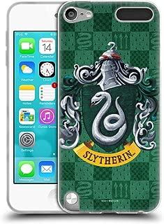 Official Harry Potter Slytherin Crest Prisoner of Azkaban I Soft Gel Case Compatible for Apple iPod Touch 5G 5th Gen