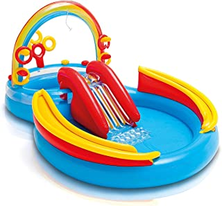 Intex 57453 Rainbow Ring Play Center, Ages 3 Years and Older, Multi-Colour