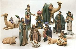 Duncan Christmas Ceramic Nativity 15 Piece Set 7